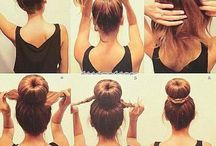 hairstyle I want (= / A little bit of nails and makeup
