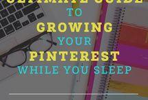 Pinterest Tipps / Hier findest du Tipps rund um Pinterest: Wie du mehr Follower bekommst, deine Besucherzahlen durch Pinterest-Marketing steigern kannst, wie du Rich Pins und andere technischen Einstellungen vornimmst oder mehr Re-Pins bekommst.