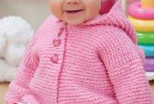 Free Knitting / Baby hoodie