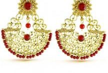 Fashion Earrings /  Find best pair of earrings in trendy designs single stone earrings single stone earrings blue sapphire earrings for women online in india. Huge range of fashion earrings, stylish earrings at https://www.heenastyle.com/accessories/earring