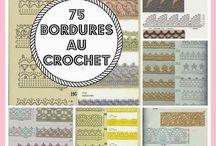 Crochet - 75 bordures au crochet