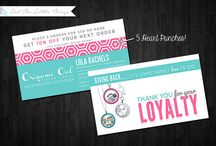 loyalty card ideas / by Dayan Marquina