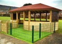 Timber Outdoor School Gazebo Shelter Classrooms