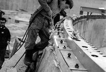 Photos historiques - Construction du Radôme