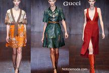 Gucci / Gucci collezione e catalogo primavera estate e autunno inverno abiti abbigliamento accessori scarpe borse sfilata donna.