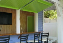 Ideas for garden pub shed