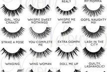 Type of eyelashes