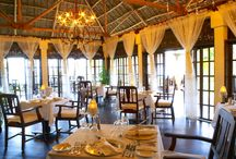 Restaurants and Bars / A fusion of cultures in Zanzibar has resulted in a unique cuisine, which blends exotic spices, fruits and flavors of the island. Our chefs have an exotic menu fusing just caught with fresh picked for a wonderful dining experience.  The elegant colonnaded terrace of The Plantation House leads into the Spice inspired bar, onto the antique-elegant dining room where fabrics change daily from rust colored silks to crisp white linens.
