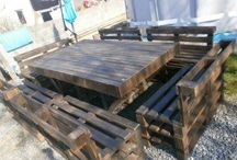 pallet ideas / by Wendy Kenyon Thomson