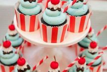 Fabulous 1950's  inspired party / Fab food and styling  ideas for a 1950's themed shower or party.