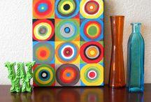 Art/Craft Ideas for kiddos / by Darci Stoller