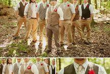 Groom and groomsmen / by Melanie Satterfield