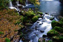 WATERFALLS, RIVERS, STREAMS & LAKES