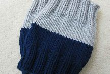 crochet boots cuffs and gloves