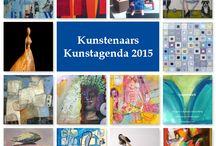 Kunstagenda 2017 / Kunstagenda 2017 waarin 52 kunstenaars 52 zelfportretten tonen tonen. Naast elke weekpagina een kunstwerk, meer info op www.kunstagenda.com