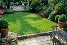 Zahrada..terasa..dekorace