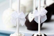 Black and White Bridal Shower, Wedding, Rehearsal Dinner