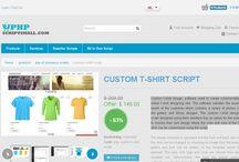 Custom T-shirt Design Script / Readymade Custom T-Shirt Script is a unique PHP Script for start a custom t-shirt design website in few minutes