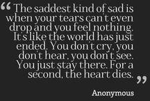Sad...