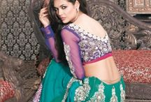 Online Lehenga Shopping / Jugniji.com : A huge sparkling collection of Indian ethnic wear in our attention-grabbing online showroom whose variety is growing every month.## http://goo.gl/F7f91G