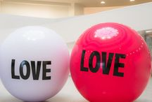 Air is in the Love / Our featured brand for February is Big Love Ball, the giant inflatable love note.