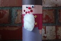 Kindergarten Christmas Crafts / by Carrie Pothoven