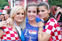 Croatia Fans Girls