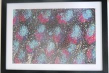 Marbled Paper - Ebru