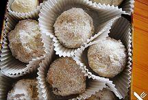 Kekse, Pralinen, Trüffel, Marzipan