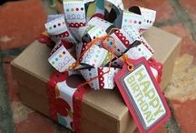 Wrap it up / Creative ways to wrap up your next gift, be it Christmas, Birthdays, or Just Because.  / by Alexis Cancio