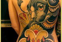 Large tattoos