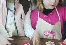 decoracion galletas forma corbata / Taller infantil de decoración de galletas con forma de corbatas para celebrar el día del padrr