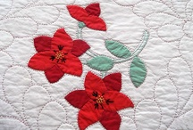 Floral applique quilts / by Judith Mulhair