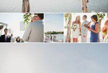 Lake Wedding / Wood, water, and wonderful
