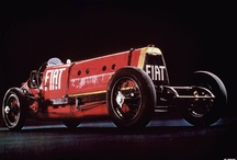 Vintage racing cars / cars and drivers that have made history