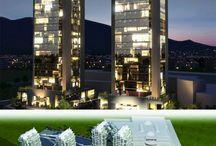 sky city Denizli ofis projesi