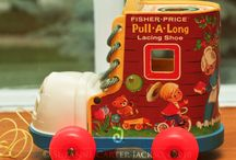 Fisher price and vintage toys