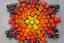 Art of Vegetables and fruits