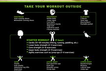 Outdoor workouts / Brave the cold and try these outdoor workouts