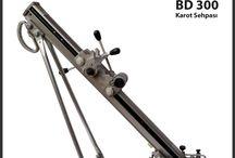 KAROT SEHPASI-STANDI / KArot makinaları için özel tasarım karot standı/sehpası.