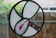My Etsy Shop / Stained glass and mosaic mixed media artwork for home and outdoor decor and furnishings