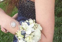 Arm band corsages