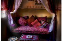1001 Nacht / moodboard bedroom