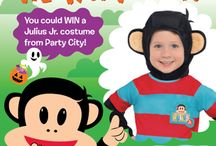 Boo! Halloween Fun / Have fun with Julius Jr. and friends this Halloween! / by Julius Jr.