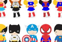 Spiderman kids clipart