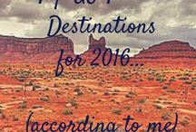 Top USA Travel Destinations for 2016 / Roadtrip USA