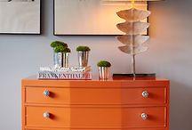 Naranja Muebles color