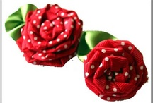 Make Some Flowers - DIY / Tutorials for making flowers from fabric, ribbon, etc / by Susan Brown