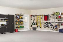 Tidy Garage / by Jessica Stanton