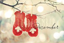 Welcoming december! Welcome holiday hehe